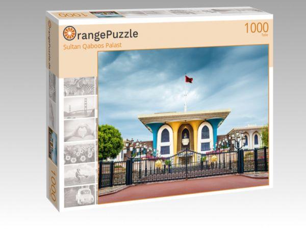 """Puzzle Motiv """"Sultan Qaboos Palast"""" - Puzzle-Schachtel zu 1000 Teile Puzzle"""