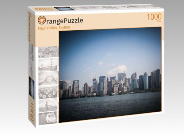 "Puzzle Motiv ""New Yorker Skyline"" - Puzzle-Schachtel zu 1000 Teile Puzzle"