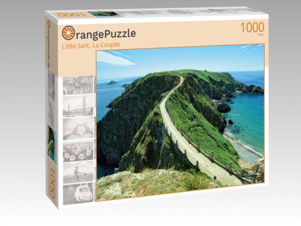 """Puzzle Motiv """"Little Sark, La Coupée"""" - Puzzle-Schachtel zu 1000 Teile Puzzle"""