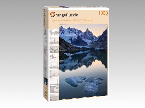 "Puzzle Motiv ""Laguna Torre mit Cerro Torre, El Chaltén, Patagonien"" - Puzzle-Schachtel zu 1000 Teile Puzzle"