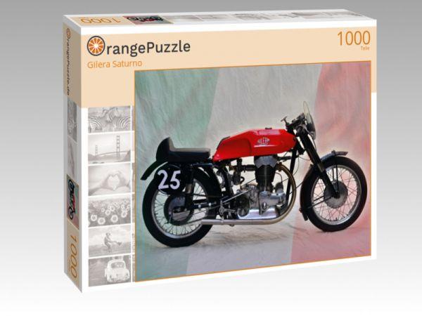 "Puzzle Motiv ""Gilera Saturno"" - Puzzle-Schachtel zu 1000 Teile Puzzle"