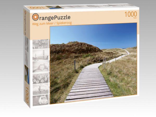 """Puzzle Motiv """"Weg zum Meer / Spiekeroog"""" - Puzzle-Schachtel zu 1000 Teile Puzzle"""