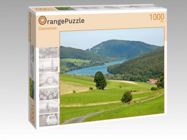 """Puzzle Motiv """"Diemelsee"""" - Puzzle-Schachtel zu 1000 Teile Puzzle"""