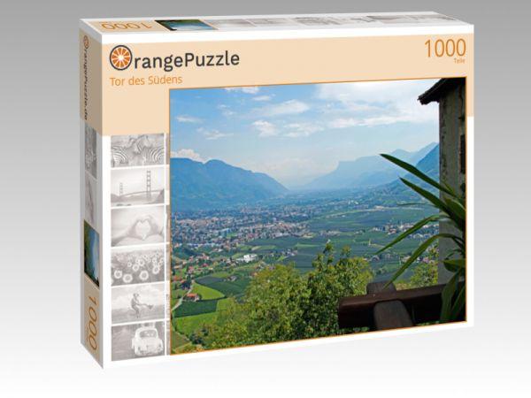 """Puzzle Motiv """"Tor des Südens"""" - Puzzle-Schachtel zu 1000 Teile Puzzle"""