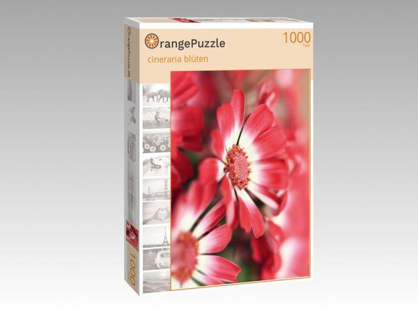 """Puzzle Motiv """"cineraria blüten"""" - Puzzle-Schachtel zu 1000 Teile Puzzle"""