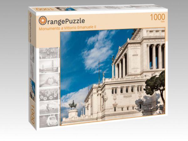 """Puzzle Motiv """"Monumento a Vittorio Emanuele II"""" - Puzzle-Schachtel zu 1000 Teile Puzzle"""
