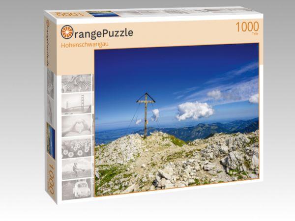 """Puzzle Motiv """"Hohenschwangau"""" - Puzzle-Schachtel zu 1000 Teile Puzzle"""