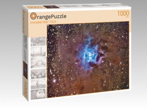 "Puzzle Motiv ""Irisnebel NGC 7023"" - Puzzle-Schachtel zu 1000 Teile Puzzle"