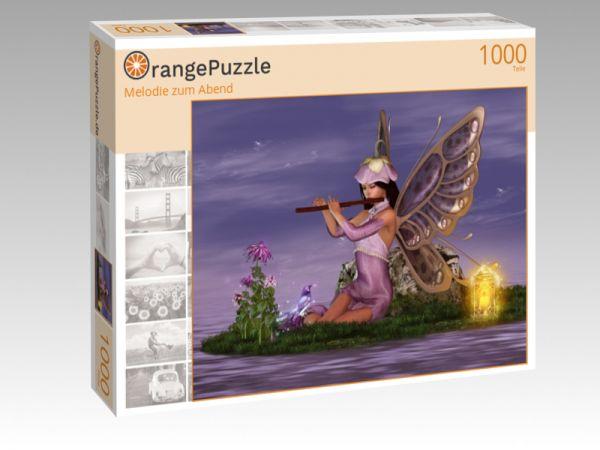 """Puzzle Motiv """"Melodie zum Abend"""" - Puzzle-Schachtel zu 1000 Teile Puzzle"""