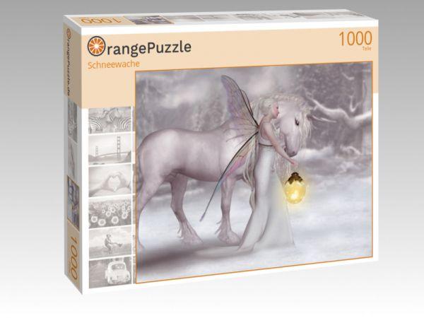 """Puzzle Motiv """"Schneewache"""" - Puzzle-Schachtel zu 1000 Teile Puzzle"""