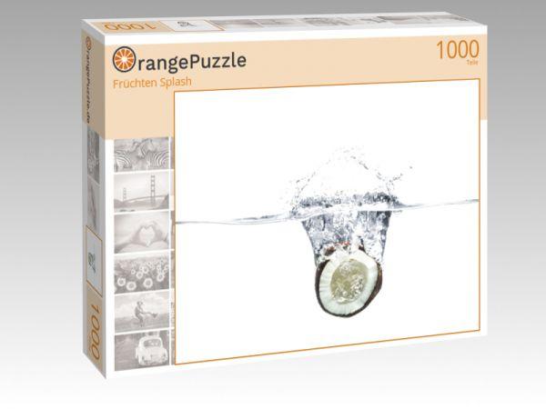 """Puzzle Motiv """"Früchten Splash"""" - Puzzle-Schachtel zu 1000 Teile Puzzle"""