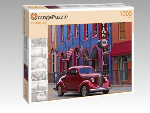 """Puzzle Motiv """"Central City"""" - Puzzle-Schachtel zu 1000 Teile Puzzle"""