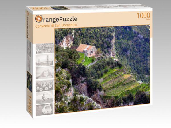 "Puzzle Motiv ""Convento di San Domenico"" - Puzzle-Schachtel zu 1000 Teile Puzzle"