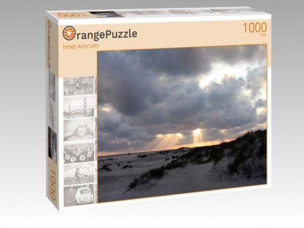 """Puzzle Motiv """"Insel Amrum"""" - Puzzle-Schachtel zu 1000 Teile Puzzle"""