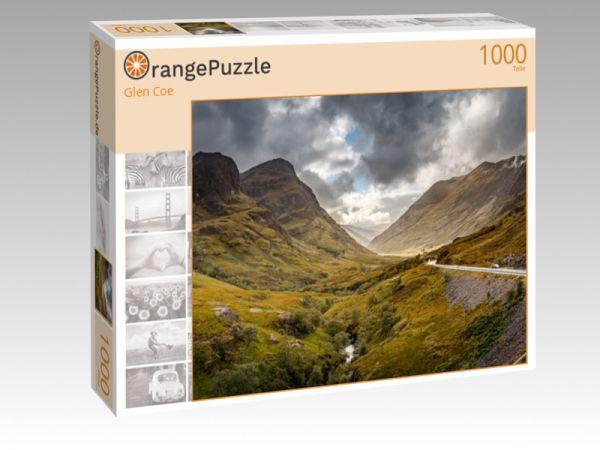 """Puzzle Motiv """"Glen Coe"""" - Puzzle-Schachtel zu 1000 Teile Puzzle"""