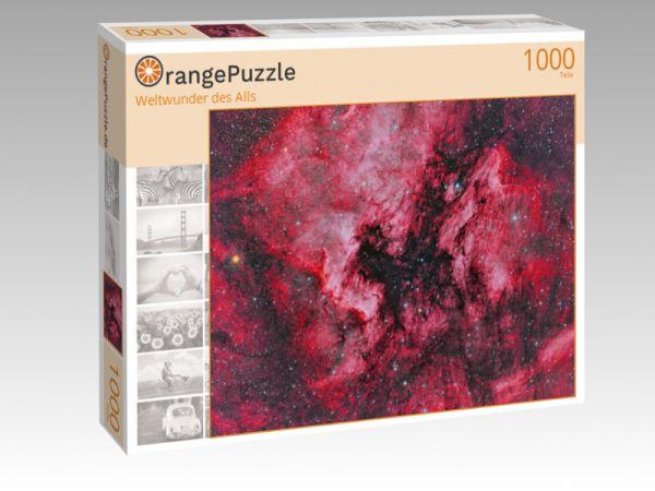 """Puzzle Motiv """"Weltwunder des Alls"""" - Puzzle-Schachtel zu 1000 Teile Puzzle"""