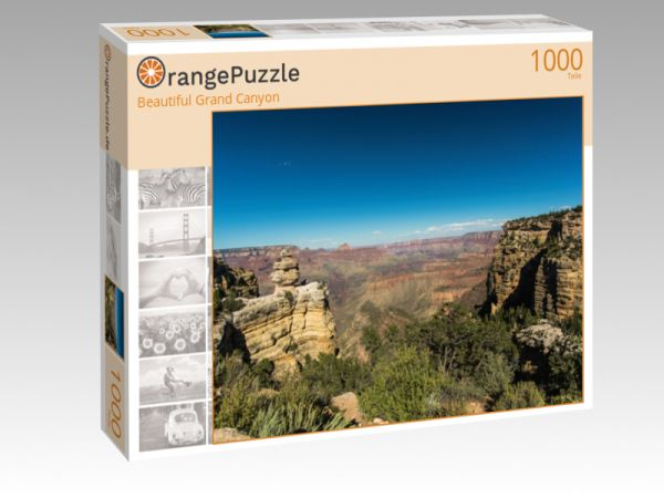 "Puzzle Motiv ""Beautiful Grand Canyon"" - Puzzle-Schachtel zu 1000 Teile Puzzle"