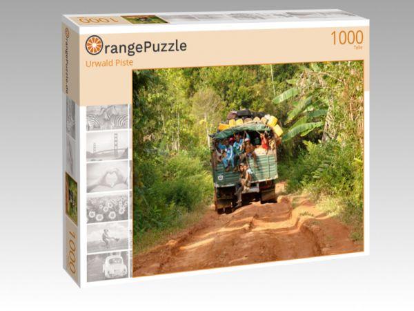 "Puzzle Motiv ""Urwald Piste"" - Puzzle-Schachtel zu 1000 Teile Puzzle"