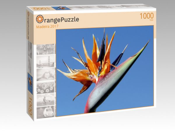 """Puzzle Motiv """"Madeira 2017"""" - Puzzle-Schachtel zu 1000 Teile Puzzle"""