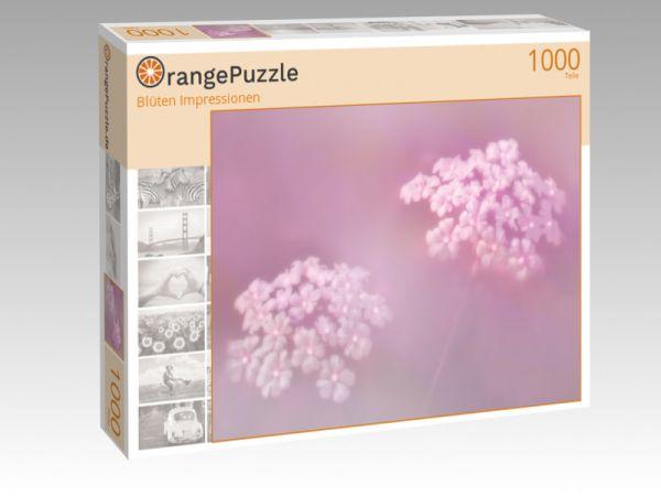 "Puzzle Motiv ""Blüten Impressionen"" - Puzzle-Schachtel zu 1000 Teile Puzzle"