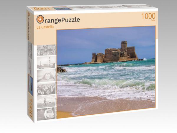 """Puzzle Motiv """"Le Castella"""" - Puzzle-Schachtel zu 1000 Teile Puzzle"""