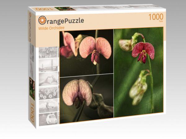 "Puzzle Motiv ""Wilde Orchidee"" - Puzzle-Schachtel zu 1000 Teile Puzzle"