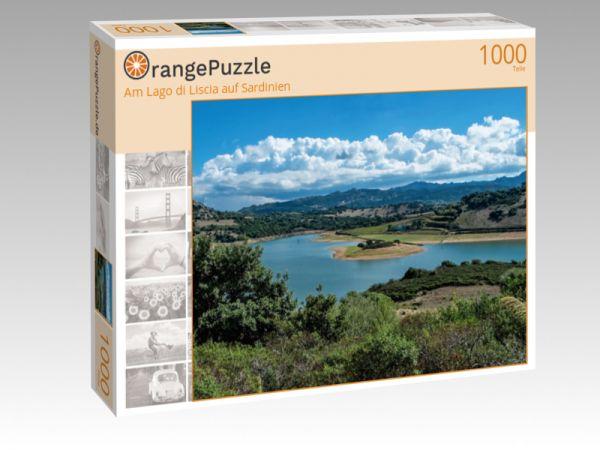 """Puzzle Motiv """"Am Lago di Liscia auf Sardinien"""" - Puzzle-Schachtel zu 1000 Teile Puzzle"""