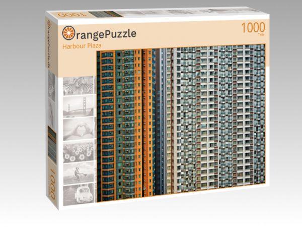 """Puzzle Motiv """"Harbour Plaza"""" - Puzzle-Schachtel zu 1000 Teile Puzzle"""
