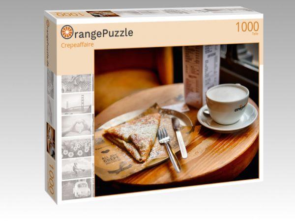 """Puzzle Motiv """"Crepeaffaire"""" - Puzzle-Schachtel zu 1000 Teile Puzzle"""