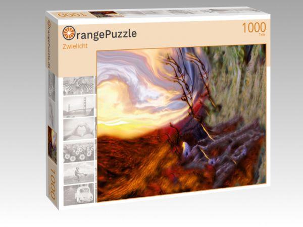 """Puzzle Motiv """"Zwielicht"""" - Puzzle-Schachtel zu 1000 Teile Puzzle"""
