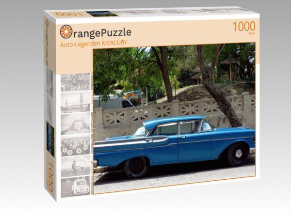 """Puzzle Motiv """"""""Auto-Legenden MERCURY"""""""" - Puzzle-Schachtel zu 1000 Teile Puzzle"""