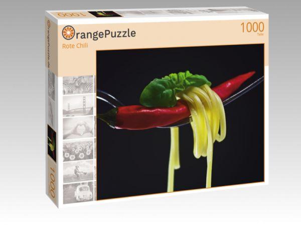 """Puzzle Motiv """"Rote Chili"""" - Puzzle-Schachtel zu 1000 Teile Puzzle"""