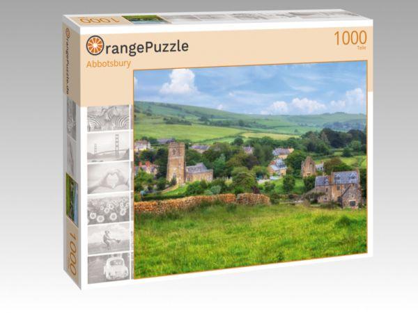 """Puzzle Motiv """"Abbotsbury"""" - Puzzle-Schachtel zu 1000 Teile Puzzle"""