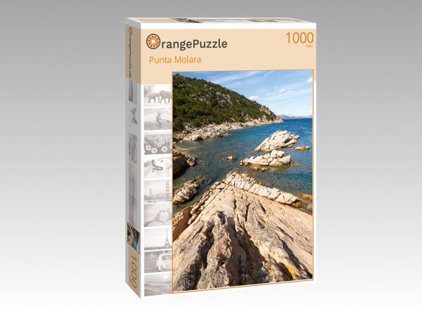 "Puzzle Motiv ""Punta Molara"" - Puzzle-Schachtel zu 1000 Teile Puzzle"