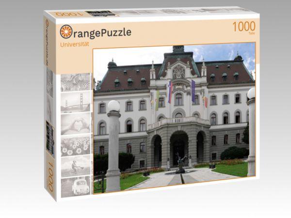 """Puzzle Motiv """"Universität"""" - Puzzle-Schachtel zu 1000 Teile Puzzle"""