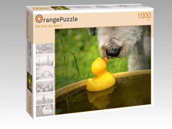 "Puzzle Motiv ""We bist du denn?"" - Puzzle-Schachtel zu 1000 Teile Puzzle"