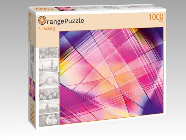 """Puzzle Motiv """"Farbklang"""" - Puzzle-Schachtel zu 1000 Teile Puzzle"""