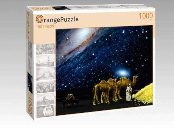 """Puzzle Motiv """"1001 Nacht"""" - Puzzle-Schachtel zu 1000 Teile Puzzle"""