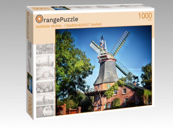 "Puzzle Motiv ""Seefelder Mühle,  / Stadtland26937 Seefeld"" - Puzzle-Schachtel zu 1000 Teile Puzzle"