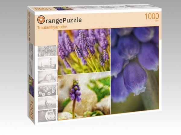 "Puzzle Motiv ""Traubenhyazinthe"" - Puzzle-Schachtel zu 1000 Teile Puzzle"