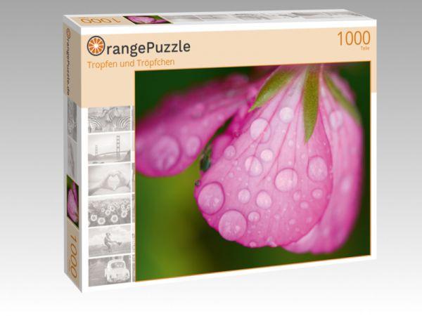 """Puzzle Motiv """"Tropfen und Tröpfchen"""" - Puzzle-Schachtel zu 1000 Teile Puzzle"""