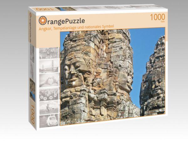 "Puzzle Motiv ""Angkor, Tempelanlage und nationales Symbol"" - Puzzle-Schachtel zu 1000 Teile Puzzle"