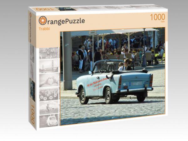 """Puzzle Motiv """"Trabbi"""" - Puzzle-Schachtel zu 1000 Teile Puzzle"""