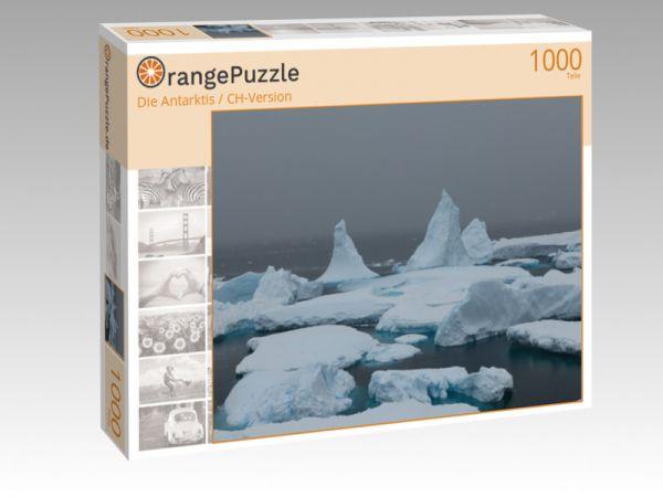 """Puzzle Motiv """"Die Antarktis / CH-Version"""" - Puzzle-Schachtel zu 1000 Teile Puzzle"""