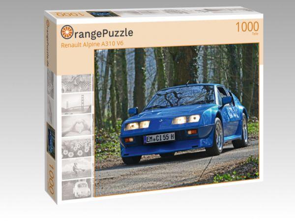 """Puzzle Motiv """"Renault Alpine A310 V6"""" - Puzzle-Schachtel zu 1000 Teile Puzzle"""