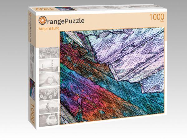 "Puzzle Motiv ""Adipinsäure"" - Puzzle-Schachtel zu 1000 Teile Puzzle"