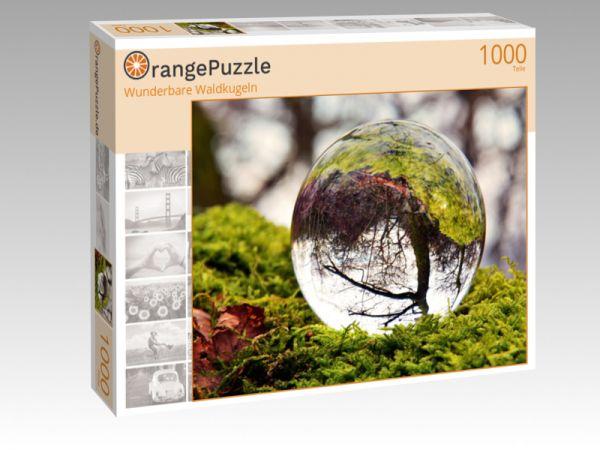 "Puzzle Motiv ""Wunderbare Waldkugeln"" - Puzzle-Schachtel zu 1000 Teile Puzzle"