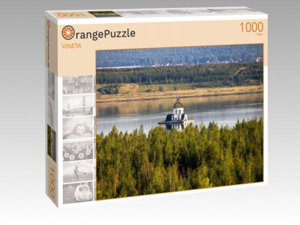 """Puzzle Motiv """"VINETA"""" - Puzzle-Schachtel zu 1000 Teile Puzzle"""