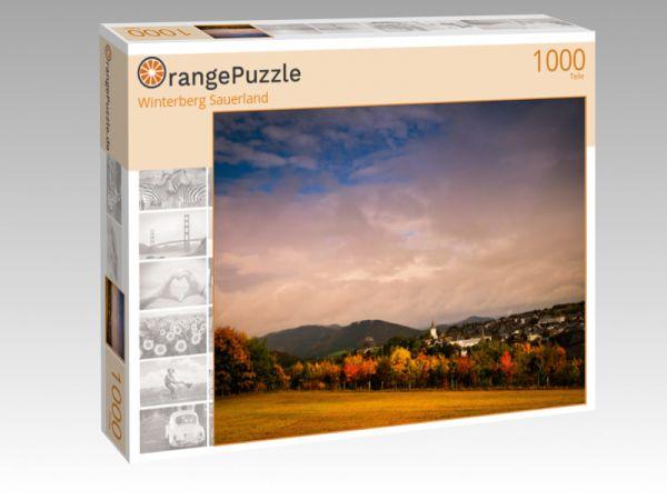 "Puzzle Motiv ""Winterberg Sauerland"" - Puzzle-Schachtel zu 1000 Teile Puzzle"