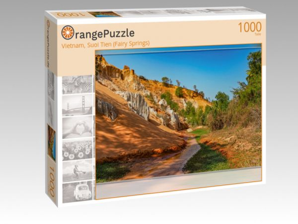 """Puzzle Motiv """"Vietnam, Suoi Tien (Fairy Springs)"""" - Puzzle-Schachtel zu 1000 Teile Puzzle"""